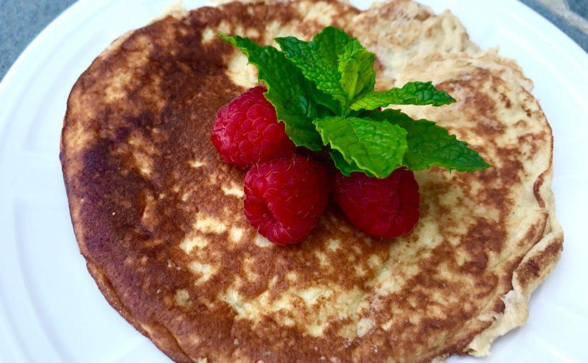 Gluten Free Almond Meal Pancakes